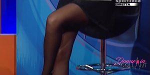Jolanda De Rienzo: super scoscio in collant!