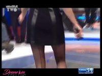 Anna Falchi in collant con la riga dietro: un video mozzafiato