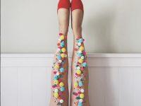 Le calze impossibili di Rachel Burke